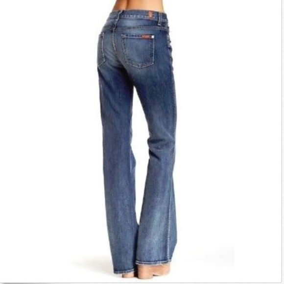a9f8036030ab 7 For All Mankind High Waist Vintage BootCut Jeans